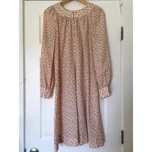 Vintage Floral Day Dress/Nightgown